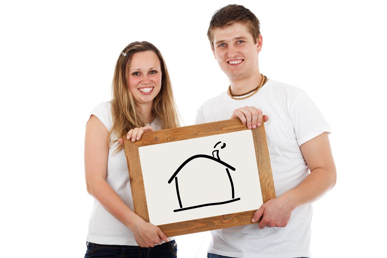 home, couple, mortgage